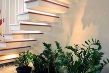Abajo de escaleras