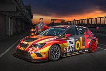 SEAT Leon Cup Racer ETCC 2015 / SEAT Leon Cup Racer nastoupí do závodů ETCC v barvách SEAT Vecra Racing tým se špičkovýým jezdcem Petrem Fulínem.
