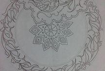 Çini desenler