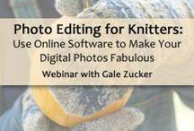 Photografing you knitting