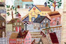 Yoko saito house quilt