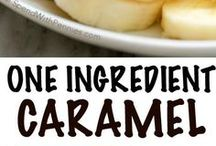 One Ingredient Caramel