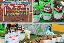 Braydens' birthday party ideas / by Nichole Anne