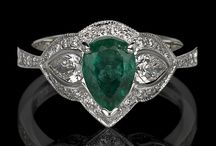 Emeralds  / Color of the year 2013 and birthstone of May