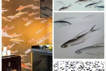 Fish design collection