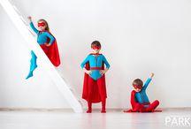 Superheroes. / Kids superheroes. photography