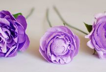 Paper flowers - PEONIES / A collection of sweet, colorful and delicate paper peonies, handcrafted by Christine paper design