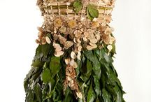 Dresses and clothes from plant material