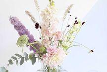 Creatief Bloemen in vaas