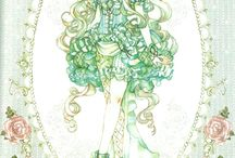 Sakizou artwork / by Star Twinkle
