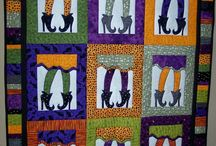 Halloween  quilted decorations