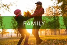 NYE Resolution: Family Time / Time with the whole family is possible. Here are new ideas to help. / by A Healthier Michigan