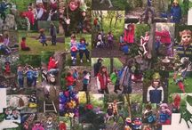 Outdoor learning display / Photo tree