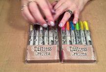 Slick Stix & other crayons