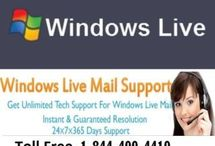 Microsoft Live Mail Support Phone Number 1-844-400-4410