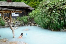 Hot Springs (Onsen, 温泉) in Japan / Photos from Japan's most beautiful and enchanting hot springs (onsen), from throughout Japan. You can find both public and private (ryokan) onsen when traveling the country. → Visit us @ www.boutiquejapan.com