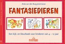 Fantasiedieren / Een kijk- en kleurboek voor kinderen van 4-12 jaar