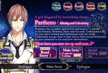 Star crossed myth - Partheno