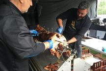 Pig Roast for a private party ...
