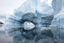 Landscape: Antartica / Landscape inspiration for upcoming collage work