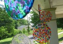 Melted bead suncatcher / Suncatchers