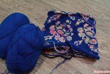 Čiapky - pletené vzory