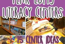 Centers / Ideas for centers in the Media Center