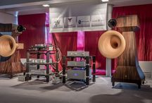 Munich HiEnd Show 2015 / Tune Audio exhibit at the Munich HiEnd show in collaboration with ModWright, Skogrand and VPI