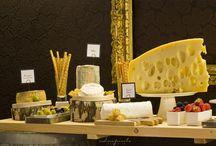 Cheese bar decor