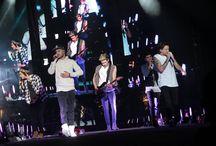 Concierto de One Direction / El grupo de pop británico #OneDirection hizo vibrar y causó euforia de miles de adolescentes que asistieron a su primer concierto en Perú. #concierto