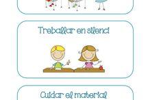 cartells organització d'aula