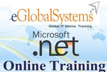 DotNet Online course /  Eglobalsystems   Offering .Net Real-time Online Training Classes For Weekend And Regular Batches For Individuals And Professionals. Eglobalsystems   Offering Free DEMO/ Seminar On .Net online training Access Control By Real Time Expert. Once Experience Our Free Sessions And Decide Further.