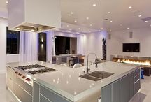 Inviting Kitchens / Mixed collections of modern and traditional kitchen.