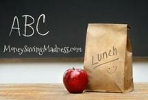 Great lunch box ideas (money saving tips) / by Michelle Barrett