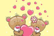 Сердечки, валентинки., мими
