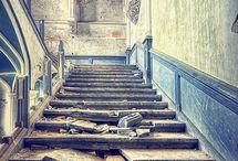 Abandoned. Architecture. Indoor. Photo