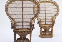 PEACOCK CHAIRS / This is a love letter to peacock chairs, including different ways to make them work for your style whether thoroughly modern, bohemian—or somewhere in between.