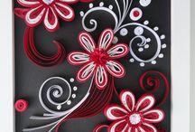 flores acrilico