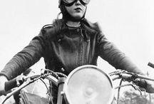 vintage biker pics / by Raven Mc Kinnon