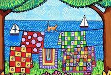 Lisa Cornish - Colourful Scenes