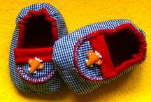 Ponto em Flor - sapatinhos em tecido / Para os pés mais anjos, sapatinhos confeccionados com todo amor!