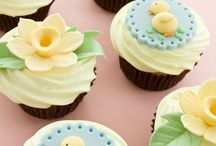 cupcake butter cream & fondant