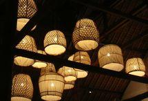 exotic lamp bali tropical