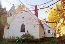 Old country churchs / by Susan Brady