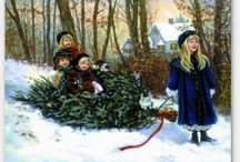 Christmas & Winter / by Jamie Wogan Edwards Art