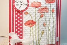 Stampin' Up! - Pleasant Poppies / cards and projects created with Stampin' Up! pleasant poppies stamp set / by Sandi MacIver  - Stampin Up - Stamping with Sandi