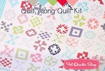 Patchwork Quilt Along / The 2017 Patchwork Quilt Along hosted by Fat Quarter Shop, benefitting Make-A-Wish!