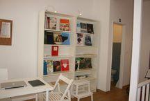 Fotos das nossas instalações / Fotos das nossas salas de música, instrumentos e livros.