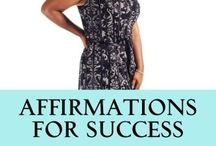Affirmations for Success / New Book on Affirmations, excerpts, videos , information