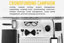 Crowdfunding / Tips, hacks, and techniques to build successful crowdfunding campaigns.